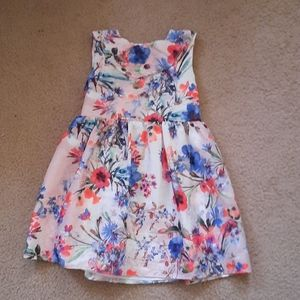 George Floral Spring Dress Size 4-5 years